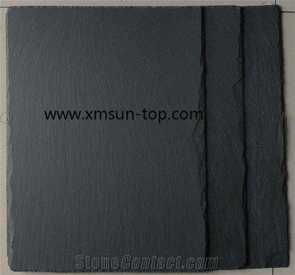 Black Slate Roofing Tile, Slate Roof Covering, Nero Slate Roofing