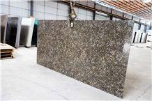 Brown Quartz Tile/ Quartz Slab / Quartz Floor Tile /Artificial Quartz Stone