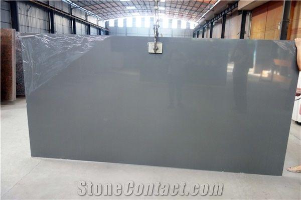 Pure Grey Quartz Quartz Slab Quartz Tiles Artificial Quartz