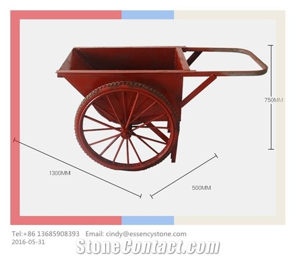 Load Moving Trolley, Hand Buggy, Concrete Buggy / Concrete