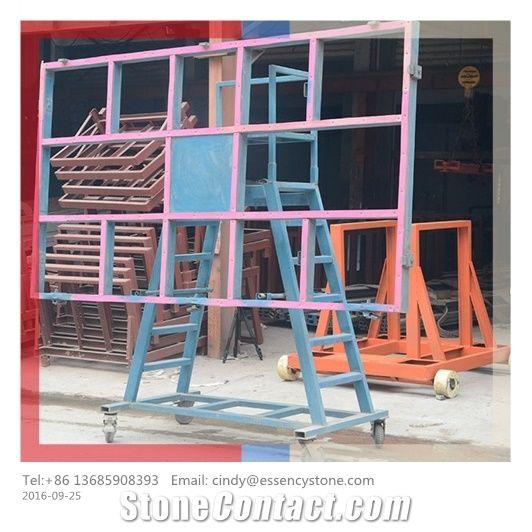 Tilting Slab Transport Cart Tilt Table Granite Cart Stone