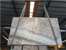 Chinese Crema Polished Onyx Tiles & Slabs/China Beige Onice Avorio/Yellow Cappuccino/Floor Wall Covering/Stable Quantity/Good Price/Light Back