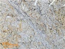 Giallo Fiorito Granite Slabs and Tiles
