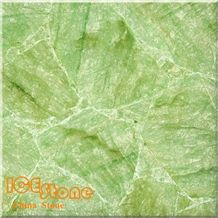 Green Crystal Semi Precious Slabs