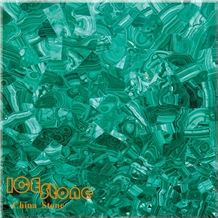 Green Malachite Semi Precious Stone Panels