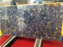 Lapis Lazuli Semiprecious Stone/Backlit Blue Precious Stone/Gemstone/Chinese Semi Precious/Stone Jewelry