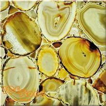 Sardonyx Backlit Semi Precious Slabs