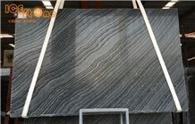 Silver Wave Marble Slabs Tiles/China Black Wooden Marble/Marble Wall Covering Tiles/Marble Floor Covering Slabs/Black Building Stone/Zebra Black Marble Tiles & Slabs/Kenya Marble Slabs