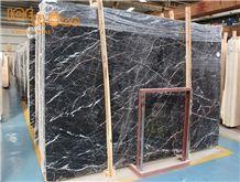Tulip Natural Marble Slabs Tiles, China Black Marble