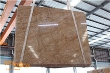 Van Gogh Marble Slab Tiles/China Yellow Marble/Gold Building Stone/Marble Wall Covering Tiles/Yellow Floor Slabs