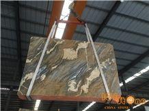 Yunnan Gold Marble Tiles & Slabs/Brecce Bergerac Yellow Marble Tiles & Slabs/China Yellow Marble Tiles & Slabs/China Yellow Marble Floor Covering Tiles/China Yellow Marble Wall Covering Tiles