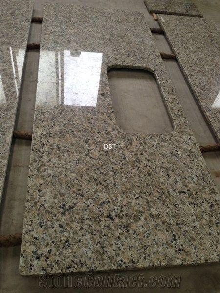 Beige Butterfly Brazil Granite Beige Kitchen Countertops