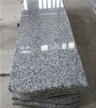 China Surf White Sea Wave White Spray White Granite Polished Tombstone Monument