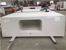 Quartz Tops,White Polished Tops,Kitchen Tops,Bar Tops,Artificial Stone Countertops