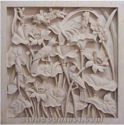 Indonesia Limestone Wall Relief Amp Etching Bali Stone Wall