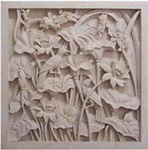 Indonesia Limestone Wall Relief & Etching, Bali Stone Wall Reliefs Carving, Bali Stone Man Made Engravings Relief Design