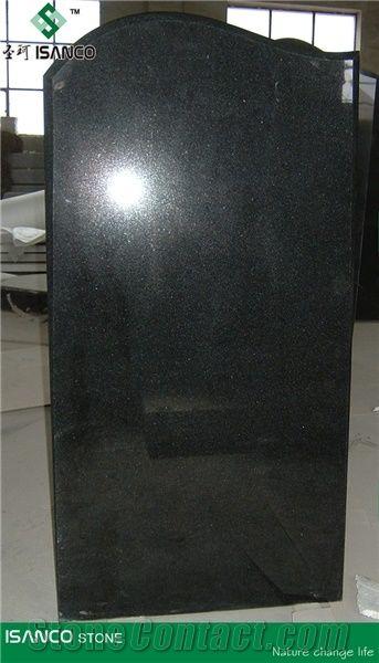 China Most Black Tombstone Design Shanxi Black Granite