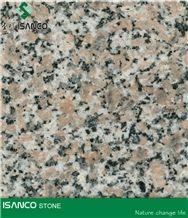 China Wulian Flower Granite Wall Covering Wulian Grey Granite Slabs Leopard Spot Granite Flooring G361 Granite Skirting Five Lotus Granite Tiles Shandong Wulian Flower Granite