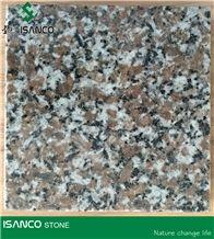 China Wulian Gray Granite Slabs Wulian Grey-Pink Granite Floor Tiles Leopard Skin Granite Floor Covering Lotus Purple Granite Flooring Shandong Wulian Grey Granite Skirting Wulian Flower Granite G361