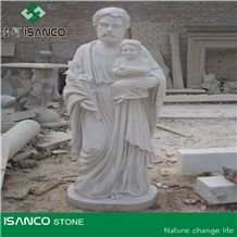 Chinese Pure White Marble Sculptured Fountain/Western/European Customized Figure, Carving Western Woman Figure
