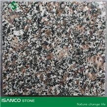 Flower Polished Granite Tiles, Slabs for Paving, Landscaping, Cheap Grey Granite Stone, Natural Phoenix Tail Red Granite Slabs