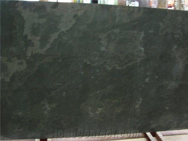 Brazil Black Honed Slate 2cm Slabs From United States