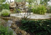 Water Fall, Water Feature, Pond, Waterfall, Pondless Garden Fountains