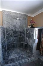 Soapstone Shower