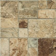 Roma Beige Pattern Floor Tiles