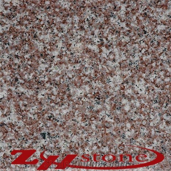 China Own Quarry Flamed Red Granite Tile Flooringfl On: Luna Pearl Granite,Luoyuan Bainbrook Brown Granite G664