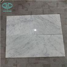 White Carrara /Ariston White/Snow White/Bianco Carrara White Marble Tiles & Slabs, Italy White Marble, Floors & Wall Clading Decoration, Polished Tiles&Slabs