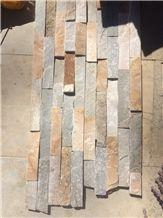China Multicolor Slate Cultured Stone Slate Culture Stone Culture Slate Slate Wall Cladding
