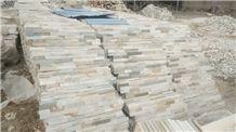 Garden Lanscape Tile, Natural Slate Tack Tile on Mesh for Garden, Cultured Stone
