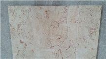 Rosalia Beige Marble Slabs & Tiles, Turkey Red Marble