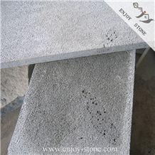 Bush Hammered Bluestone Slabs & Cut to Size Tiles / Wall Cladding / Pavement