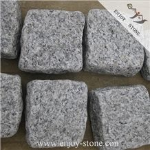 Natural Split & Tumbled G603 Grey Outdoor Driveways/Walkway Paving Stone, Padang White Outdoor Driveways Cobblestone/Sesame White Granite Parking Side Stone