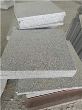 China Natural Stone Granite Flamed Hubei G603 Light Grey Granite/Silver Grey/Sesame Grey/Bianco White Tiles&Slabs,Granite Wall Covering/Floor Covering/Granite Tiles/Building Stone/Quarry Owner