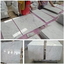 Natural Stone Italy White Marble Bianco Carrara, Calacatta, Stataurietto Venato Polished Tiles, Slabs Floor and Wall Covering Interior Decoration Building China Factory