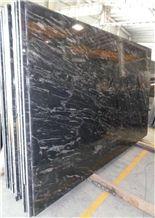 Forest Black Granite Slabs & Tiles ,Silver Paradiso Granites, India Black Granite