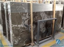 Florest Grey Marble Tiles & Slabs, Brown Polished Marble Floor Covering Tiles, Walling Tiles