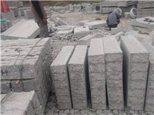 K3 (G3) Kerbstone for Germany and Austria, Rough Kerbstone, Road Stone,G341 Granite Kerbstone