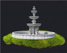 Fountain Garden Fountain Marble Fountain