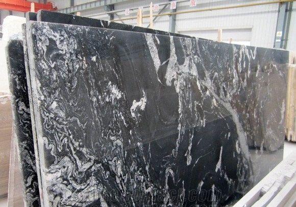 Hot Cheap Fantacy Black Granite Tiles Price Philippines Shenzhen Leeste Industry Co Ltd