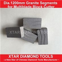 1200mm Diamond Segments for Granite Cutting