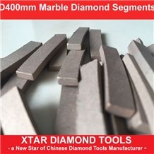 400mm Diamond Segments for Cutting Marble