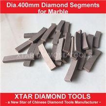 400mm Diamond Segments for Travertine