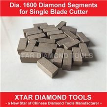 D1600mm diamond segments for marble block