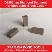 Multiblade Segments for Granite