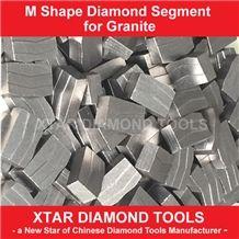 Single Blade Segments for Granite