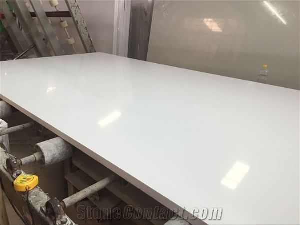 Super pure white quartz stone kitchen table dinning table top from super pure white quartz stone kitchen table dinning table top watchthetrailerfo